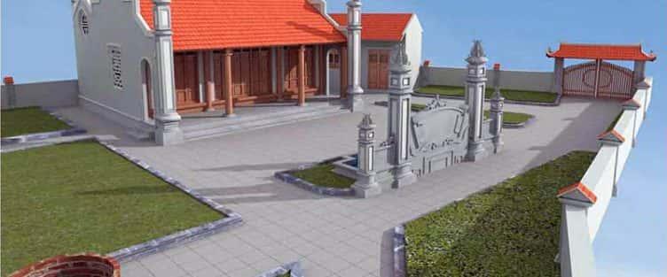 Thiết kế nhà thờ ở Thanh Hóa