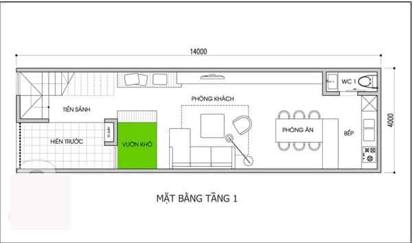 xay nha 400 trieu phunutoday vn - Thiết kế nhà 2 tầng đẹp