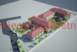 thiết kế trường mầm non 300x203 - Thiết kế trường mầm non tư thục, mầm non quốc tế, công lập