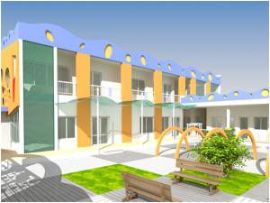 thiết kế trường mầm non3 300x225 - Thiết kế trường mầm non tư thục, mầm non quốc tế, công lập