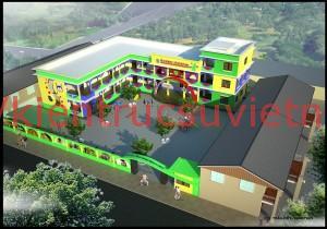 thiết kế trường mầm non7 300x210 - Thiết kế trường mầm non tư thục, mầm non quốc tế, công lập