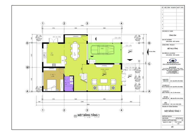 2 - Bản vẽ thiết kế nhà đẹp