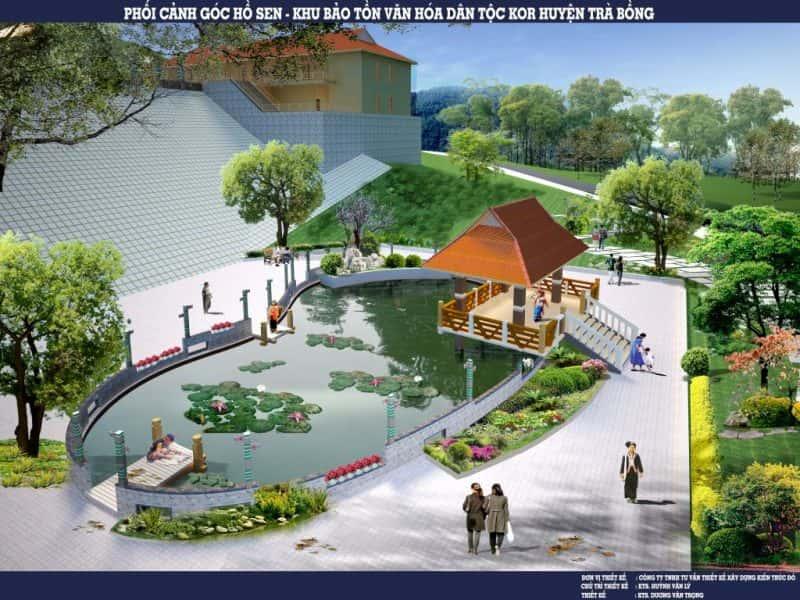 26 12 ho sen e1575880695358 - Kiến trúc sư Huỳnh Văn Lý đam mê và tâm huyết với nghề nghiệp
