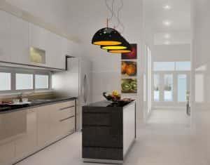 5 mau thiet ke phong bep dep 2013 06 0 300x235 - Thiết kế nội thất bếp - Ý tưởng táo bạo để khẳng định đẳng cấp