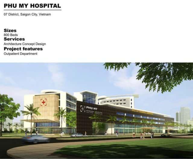 BENH VIEN PHU MY e1570096782964 - Giới thiệu về hoạt động kiến trúc sư Phan Đình Kha