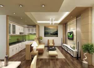 Noi that sang mau cho can ho chung cu nho 1 300x219 - Thiết kế thi công nội thất căn hộ chung cư đẹp