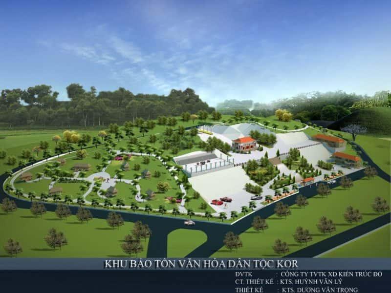 PCTT KHU BAO TON e1575880716100 - Kiến trúc sư Huỳnh Văn Lý đam mê và tâm huyết với nghề nghiệp