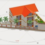 Thiết kế nhà với miếng đất không vuông vắn (méo, lệch)