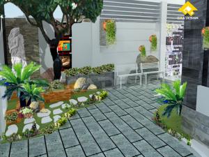 Thiết kế sân vườn tiểu cảnh 300x225 - Tư vấn thiết kế sân vườn tiểu cảnh hòn non bộ đẳng cấp