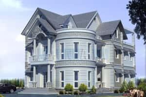 Thiet ke biet thu 2 300x201 - Ảnh tổng hợp các công trình thiết kế biệt thự đẹp nhất