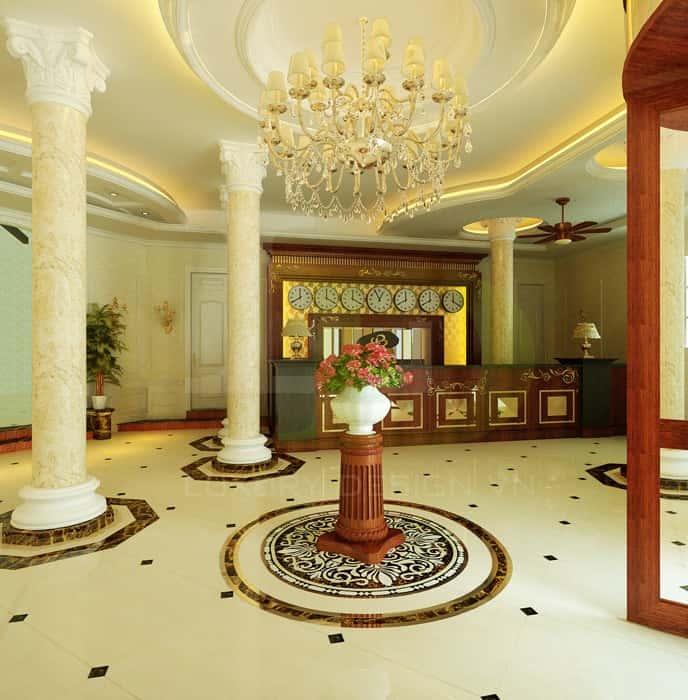 Thiet ke noi that khach san b - Thiết kế nội thất khách sạn đẹp