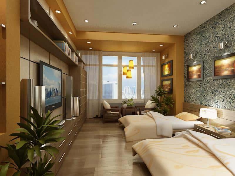 Thiet ke noi that khach san d - Thiết kế nội thất khách sạn đẹp