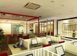 Thiet ke noi that van phong b 300x219 - Bộ sưu tập những mẫu thiết nội thất văn phòng đẹp