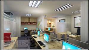Thiet ke noi that van phong d 300x169 - Bộ sưu tập những mẫu thiết nội thất văn phòng đẹp