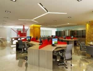 Thiet ke noi that van phong e 300x228 - Bộ sưu tập những mẫu thiết nội thất văn phòng đẹp