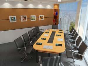 Thiet ke noi that van phong f 300x225 - Bộ sưu tập những mẫu thiết nội thất văn phòng đẹp