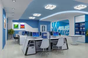 Thiet ke noi that van phong l 300x200 - Bộ sưu tập những mẫu thiết nội thất văn phòng đẹp