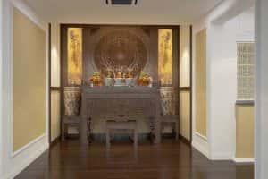 ban tho dep btd001 300x200 - Thiết kế nội thất phòng thờ
