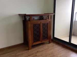 ban tho dep btd002 300x224 - Thiết kế nội thất phòng thờ