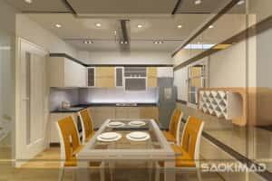 bep1 300x200 - Thiết kế nội thất bếp - Ý tưởng táo bạo để khẳng định đẳng cấp