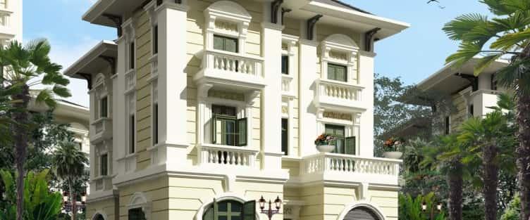 Mẫu thiết kế biệt thự đẹp ở Bắc Kạn