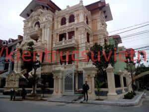 biet thu dep 001 1 300x225 - Mẫu thiết kế biệt thự đẹp ở An Giang