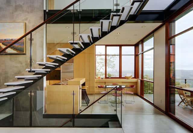 biet thu dep hien dai btdhd005 - Tổng hợp các mẫu thiết kế cầu thang đẹp hiện nay
