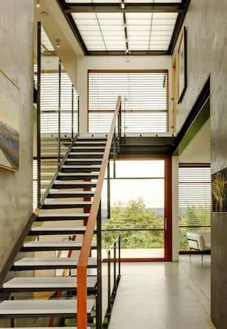 biet thu dep hien dai btdhd006 - Tổng hợp các mẫu thiết kế cầu thang đẹp hiện nay
