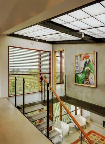 biet thu dep hien dai btdhd007 - Tổng hợp các mẫu thiết kế cầu thang đẹp hiện nay