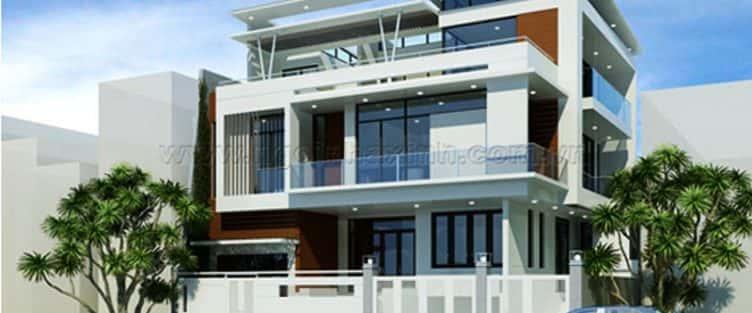 Những mẫu thiết kế biệt thự phố đẹp và sang trọng