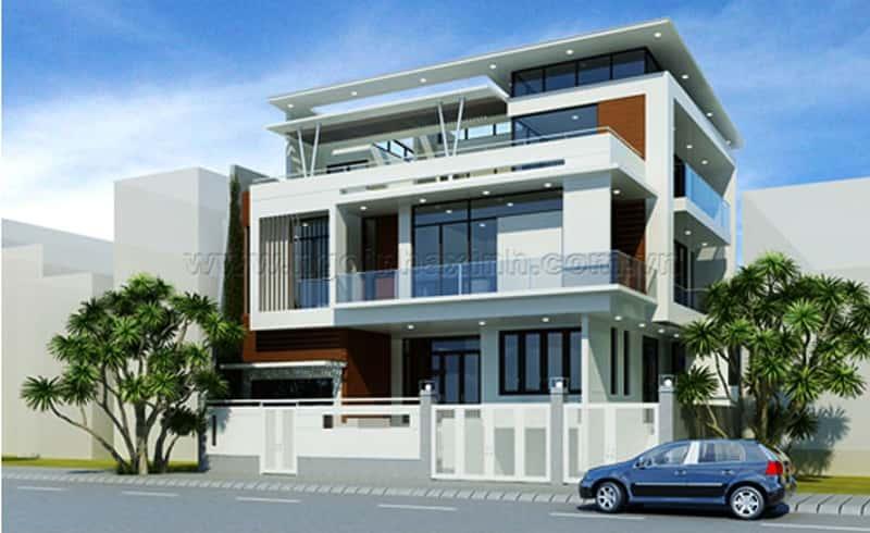 biet thu dep113 - Bộ sưu tập mẫu thiết kế biệt thự phố đẹp và sang trọng