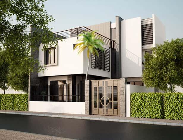 biet thu pho dep bietthupho anhlongtanphu1 - Bộ sưu tập mẫu thiết kế biệt thự phố đẹp và sang trọng