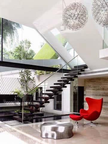 cau thang dep ctd006 - Tổng hợp các mẫu thiết kế cầu thang đẹp hiện nay