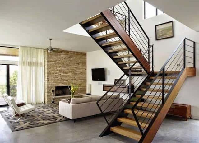 cau thang dep ctd008 - Tổng hợp các mẫu thiết kế cầu thang đẹp hiện nay