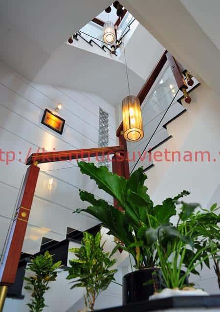 gieng troi dep - Giếng trời đẹp thiết kế ấn tượng lấy ánh sáng lưu thông không khí