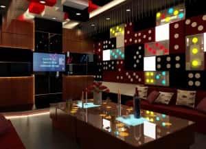 kien truc va noi that quan karaoke 300x217 - Bộ sưu tập những mẫu thiết kế quán karaoke đẹp