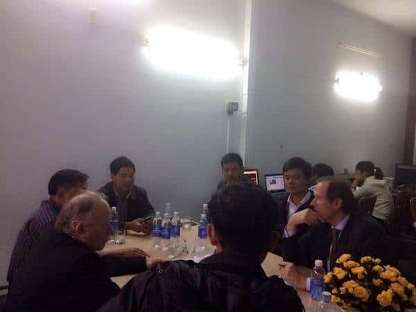 kts huynh van ly 2 - Kiến trúc sư Huỳnh Văn Lý đam mê và tâm huyết với nghề nghiệp