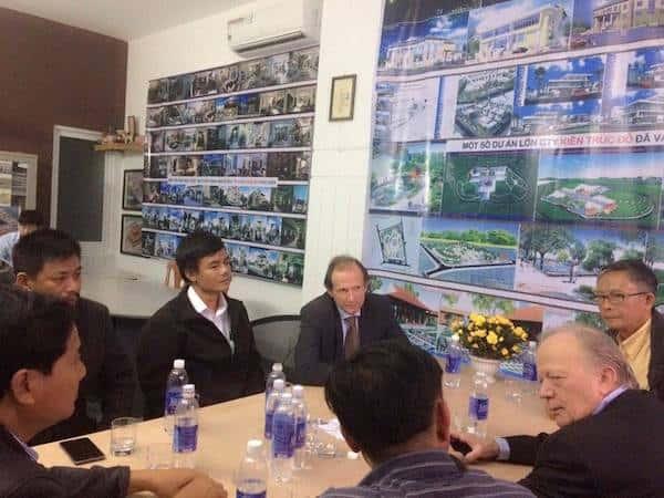 kts huynh van ly 3 - Kiến trúc sư Huỳnh Văn Lý đam mê và tâm huyết với nghề nghiệp