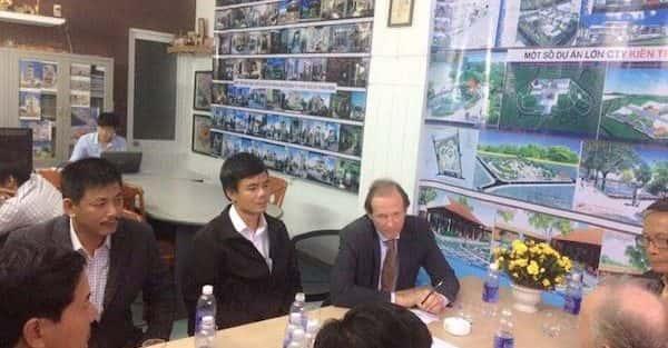 Kiến trúc sư Huỳnh Văn Lý đam mê và tâm huyết với nghề nghiệp