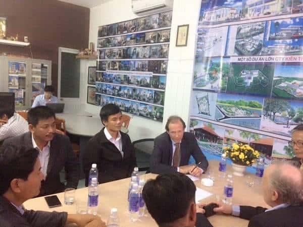 kts huynh van ly 4 - Kiến trúc sư Huỳnh Văn Lý đam mê và tâm huyết với nghề nghiệp