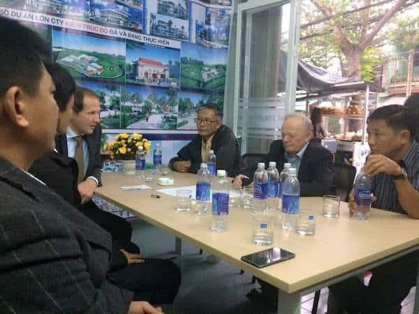kts huynh van ly 5 - Kiến trúc sư Huỳnh Văn Lý đam mê và tâm huyết với nghề nghiệp