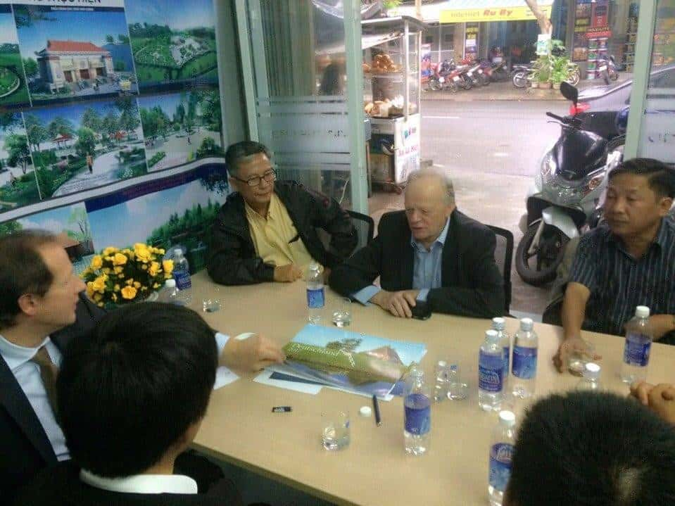 kts huynh van ly - Kiến trúc sư Huỳnh Văn Lý đam mê và tâm huyết với nghề nghiệp