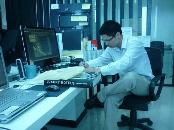 kts nguyen van trinh 2 - Giới thiệu về hoạt động kiến trúc sư Nguyễn Văn Trình
