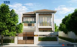 mẫu nhà đẹp 2 tầng rộng 8m anh quang 300x183 - Thiết kế nhà Đà Nẵng