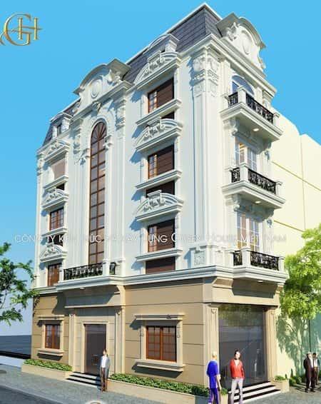 mau nha 2 mat tien dep 2 - 45 Mẫu nhà đẹp hai mặt tiền với kiến trúc hiện đại