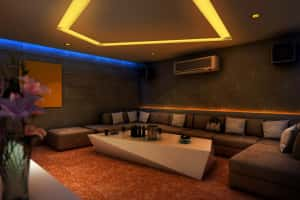 mau thiet ke karaoke 300x200 - Bộ sưu tập những mẫu thiết kế quán karaoke đẹp