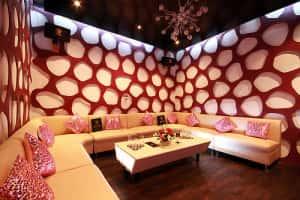 mau thiet ke karaoke 8 300x200 - Bộ sưu tập những mẫu thiết kế quán karaoke đẹp