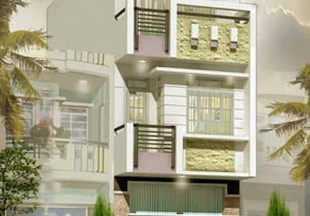 Tư vấn mẫu thiết kế biệt thự nhà vườn 3 tầng