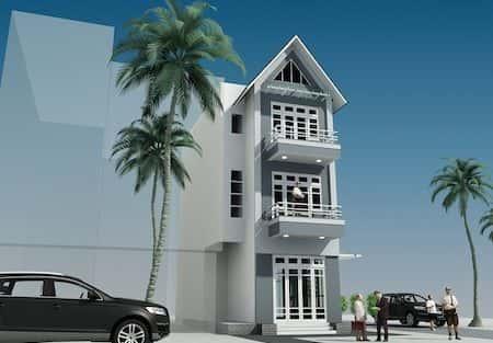 Tư vấn thiết kế nhà 5 tầng với mặt tiền 6,5m đẹp
