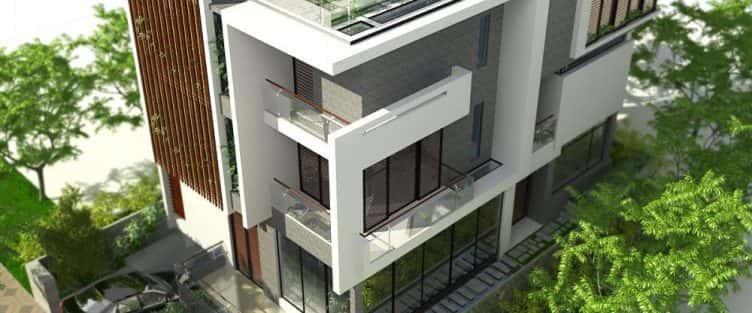 Thiết kế nhà đẹp ở tại Cần Thơ